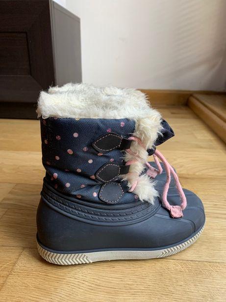 Buty zimowe / śniegowce FRIBOO 28/29 - 18 cm