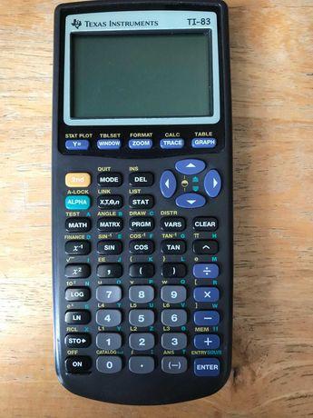 Calculadora Gráfica Texas Instruments TI-83, como nova