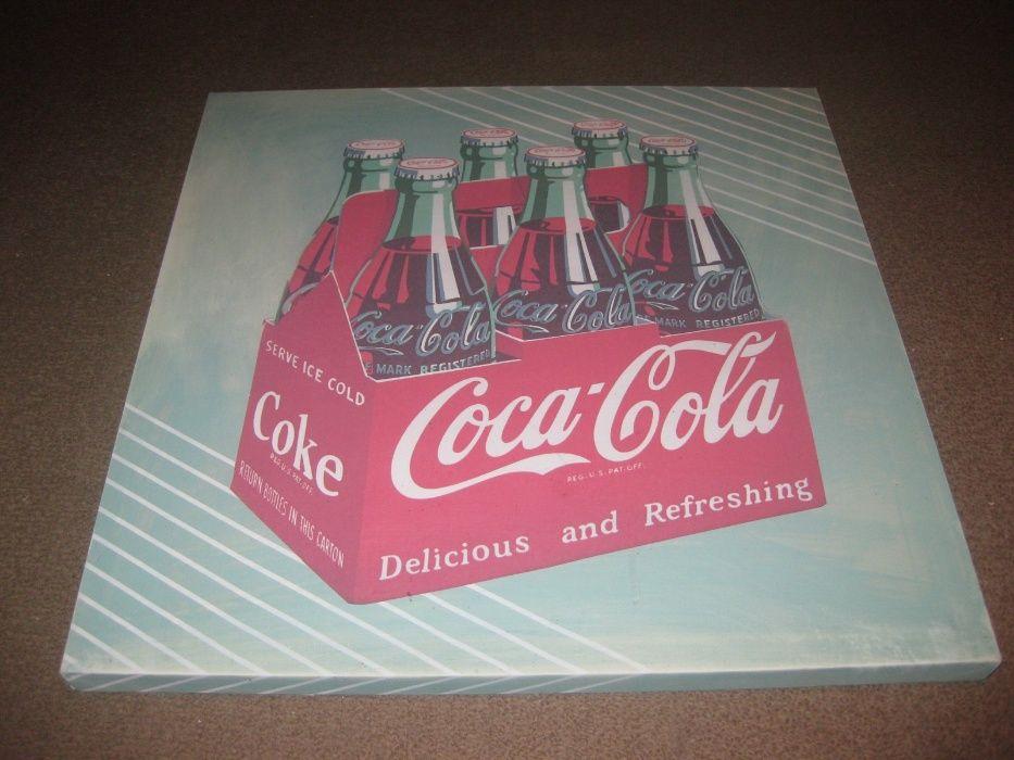 2 Telas da Coca Cola/Inspiração Vintage/Novas! Paços de Ferreira - imagem 1