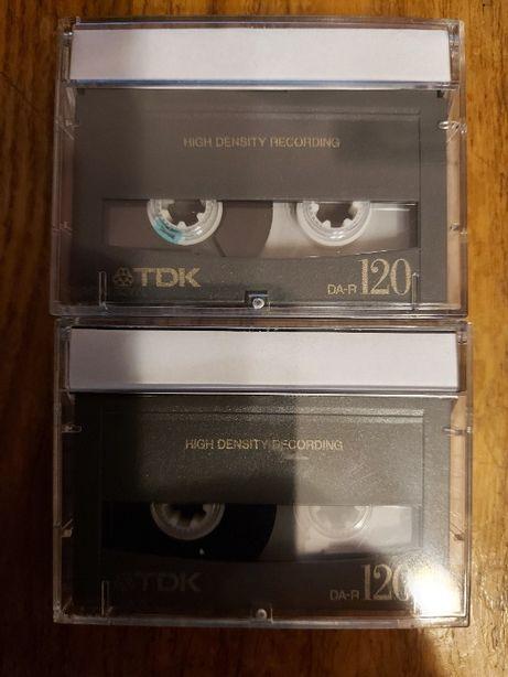 Kaseta Dat marki TDK DA-R 120, używana, bdb