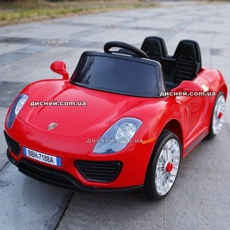 Детский электромобиль ДЦЭ7616 ЕВА, Porsche, Дитячий електромобiль