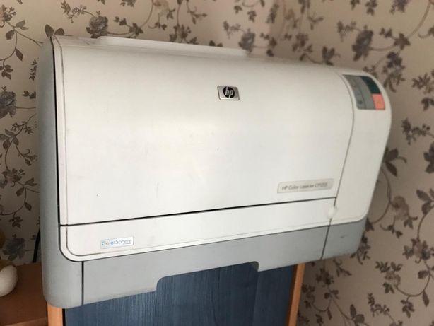 Принтер (прінтер) цветной лазерный HP Color LaserJet CP1215