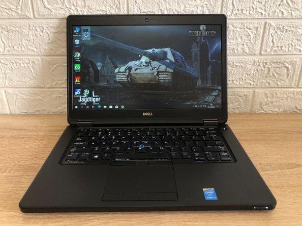 Игровой Dell E5450. 2 ВИДЕОКАРТЫ + Core I5-5300u, IPS FULL HD, 8/256