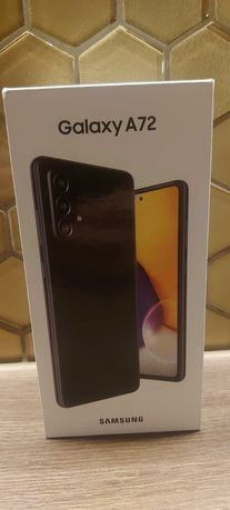 Samsung A72 128gb 6gb ram Nowy Gwarancja Nierozpakowany