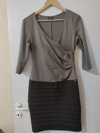 Продам коричневое платье