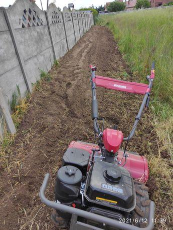 Usługa glebogryzarka, przygotowanie pod trawnik, ogródek, działka