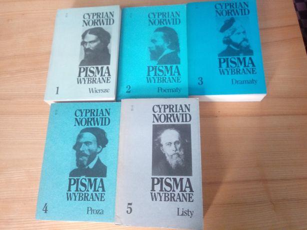 C. K. Norwin - Pisma wybrane 5 tomów (KOMPLET!)