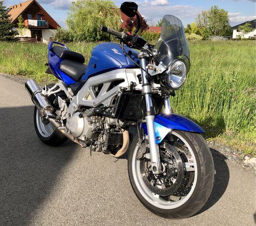 Motocykl Suzuki SV 1000 N 2004