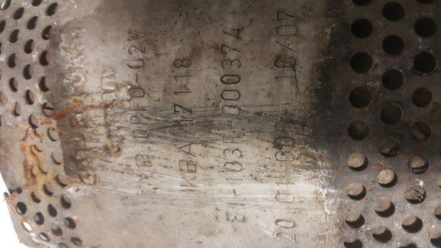 Kba 17118 sprawny nie złom katalizator filtr cząstek audi volkswagen