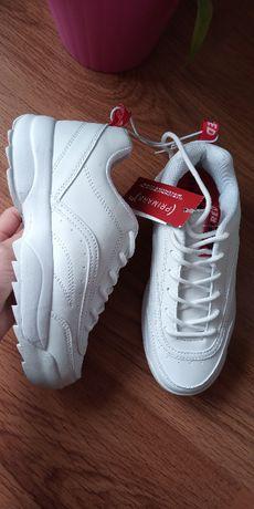 Белые кроссовки Примарк (Primark Red) 36р