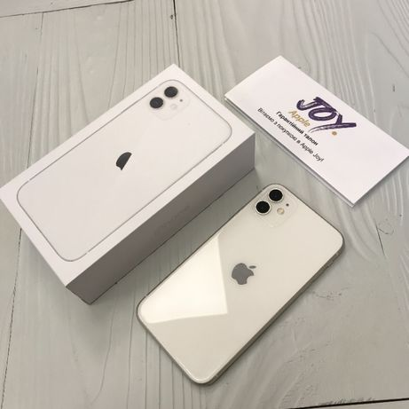 iPhone 11 64 GB White Neverlock Trade -In Гарантия Рассрочка