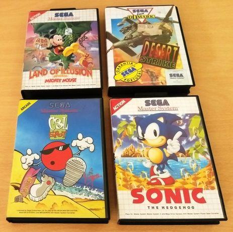 Pack 2 Jogos Master System