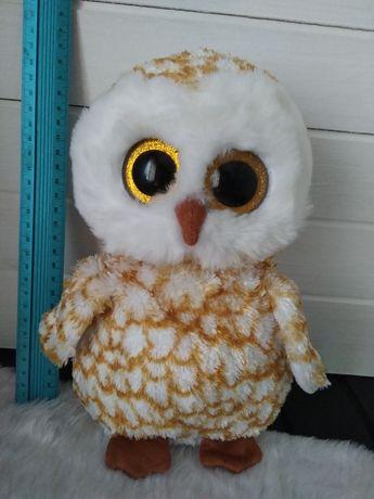 Большой Глазастик Ту сова с блестящими глазами ty