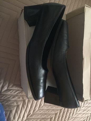 Sapatos pele Preto A Toga