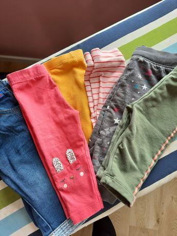 Spodnie niemowlęce r.68