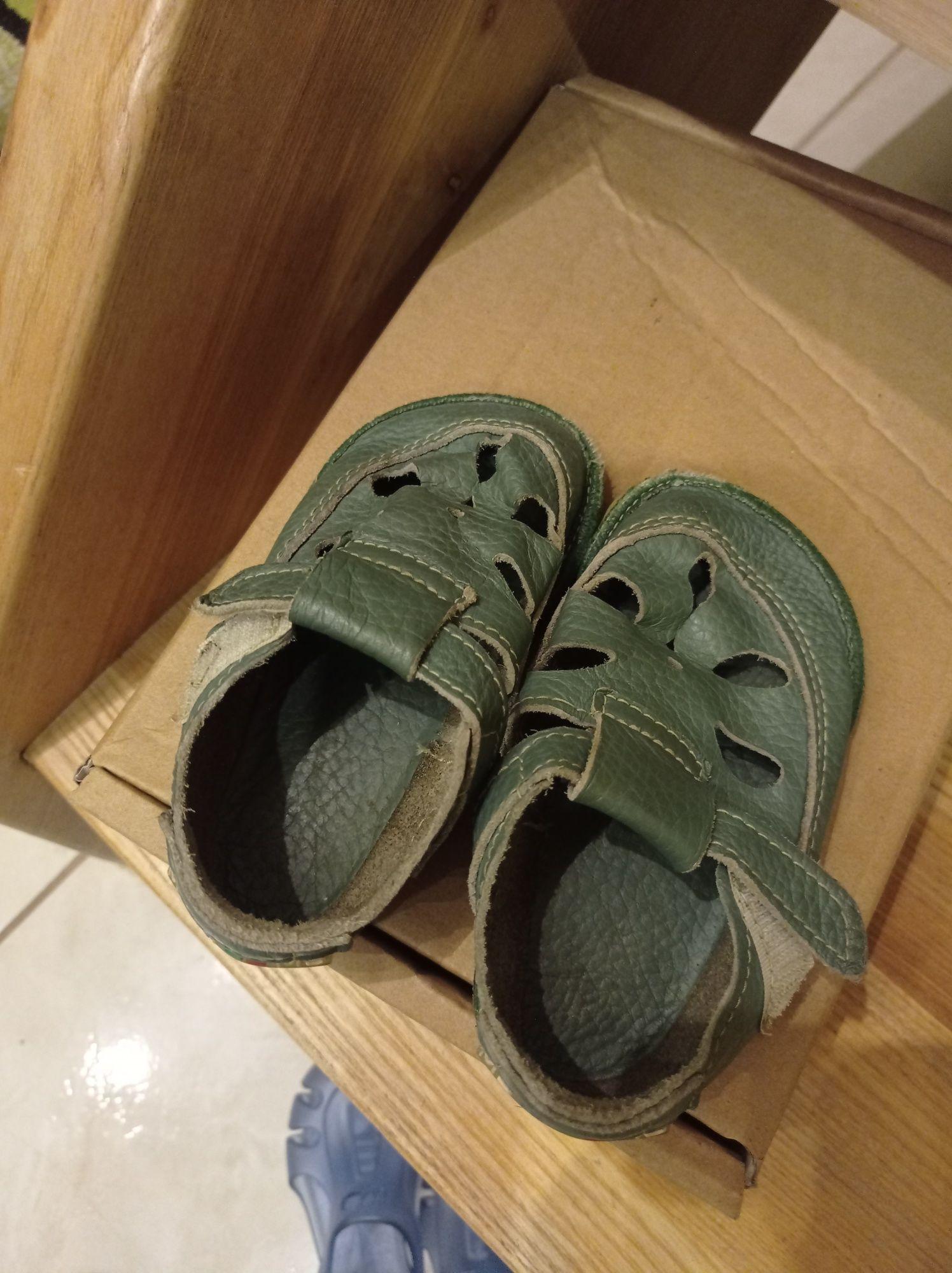 Skórzane sandały Magical shoes jak tikki 21