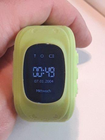 Smart Watch dla dzieci z lokalizacja GPS zielony