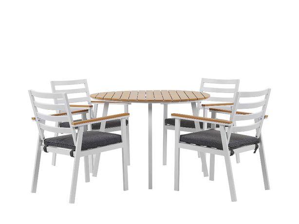50% ceny Zestaw ogrodowy meble ogrodowe stół + 4 krzesła Cavoli