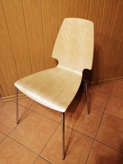 Krzesło stołek IKEA sklejka gięta buk 3 szt. Dąbrowa Górnicza - image 1