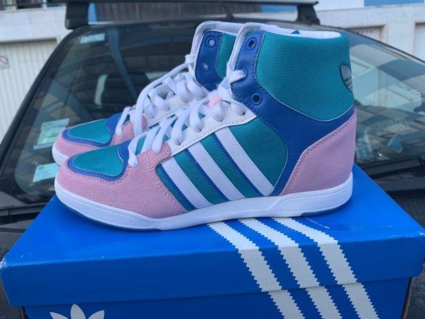Tenis sapatilhas adidas funflyer 39 1/3 novas na caixa.originais