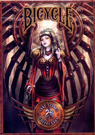 Karty do gry Bicycle: Anne Stokes Collection - Steampunk