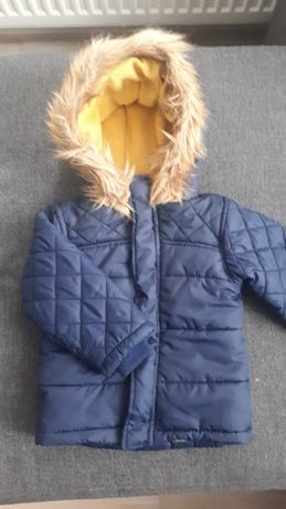 Kurtka zimowa chłopięca rozmiar 86