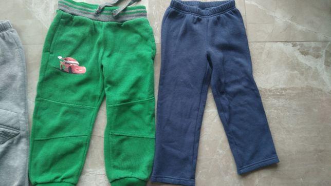 Spodnie dresowe ocieplenie,r.98