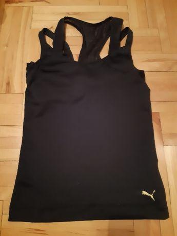 Bluzka sportowa PUMA r S, wbudowany stanik usztywniajacy biust