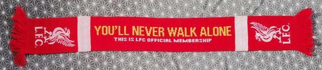 Oficjalny szalik członka LFC Liverpool szal piłka nożna wysyłka klub