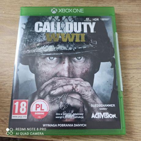 Call of Duty WW 2 xbox one COD WW II xbox series jak nowa PL Dubbing