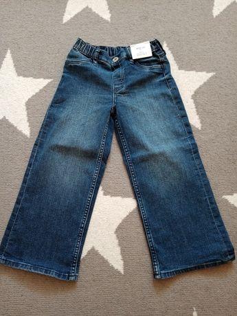Nowe spodnie dziecięce jeans H&M rozm. 110