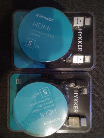 Kabel HDMI prosty oraz  kątowy 5m