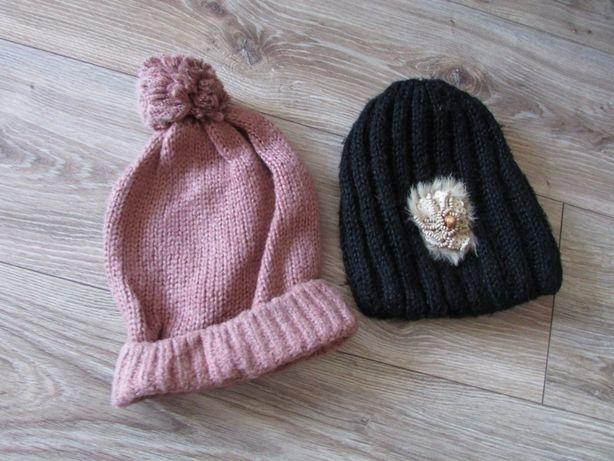 czapka zimowa zestaw 2szt