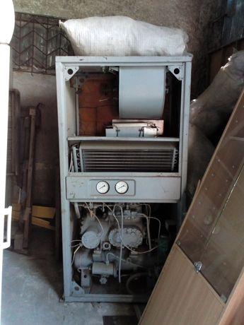 холодильная установка кондиционер отопитель на безе компрессора1-ПБ7Б