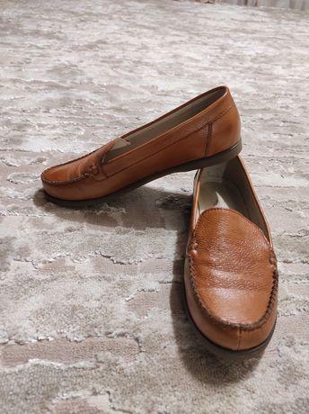 Натуральная кожа туфли женские (ручная робота)