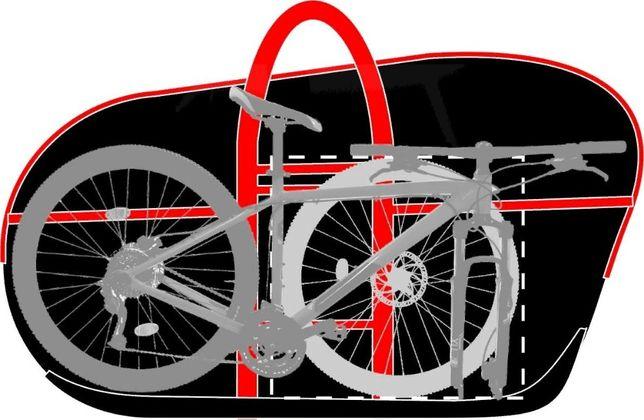 Сумка чехол для велосипеда, для самоката ,для хранения и перевозки