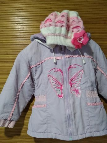 Осенний костюм куртка и штаны 1,5-2.5 года