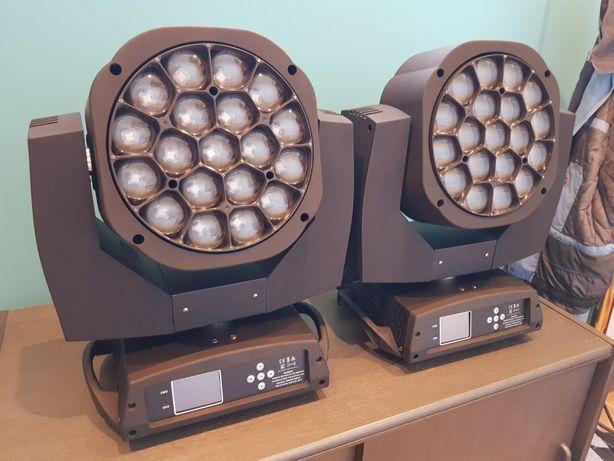 PG LED Wash, Beam + ROTO, ZOOM 19X15W B-EYE, Clay Paky Bee-Eye, k10