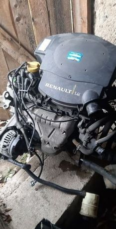 Двигатель мотор ГБЦ Головка Renault Dacia Logan 1.4 1.6 K7J K4M Логан