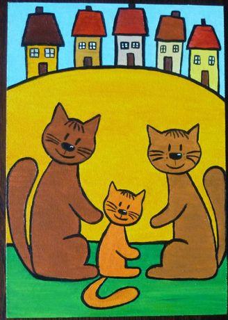 Taniej Koty obrazek prezent dla dziecka