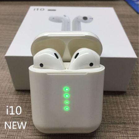 АКЦИЯ i10 Airpods Беспроводные Наушники Bluetooth Оригинал Опт Дроп