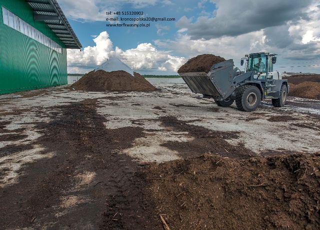 torf kwaśny torf odkwaszony substrat dostawy Tarnów