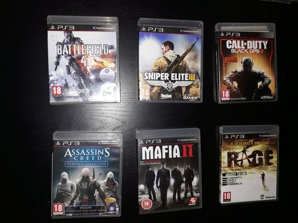 Varios Jogos Playstation 3