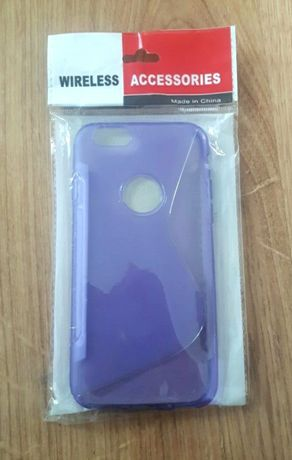NOWE Etui IPhone 6/6s fioletowy pokrowiec na telefon obudowa