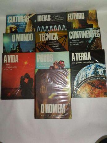Enciclopédia - O Homem no seu Mundo - 10 Volumes