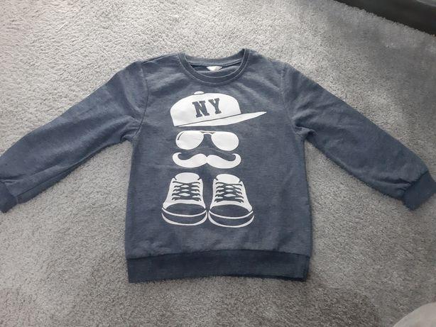 Bluza chłopięca w rozmiarze 122 cm