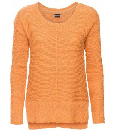 Sweterek sweter pomarańczowy XS S 32 34 36