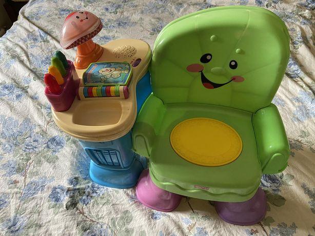 Детский стульчик интерактивный