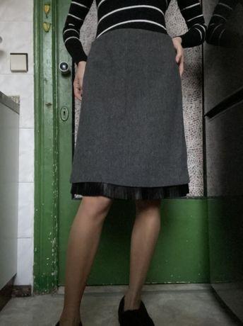 Шерстяная юбка Reserved Резервд р. 36 (S-M)