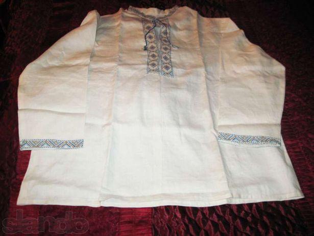 Продаются украинская сорочка вышиванка мужская